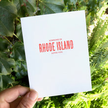 Load image into Gallery viewer, Rhode Island Cards