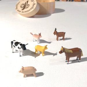Teensy Farm Animals & Cats