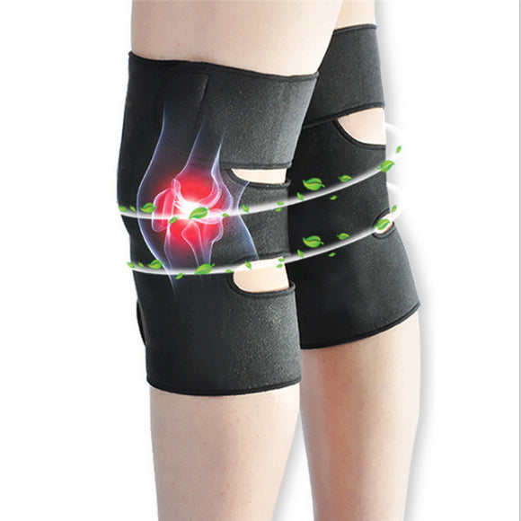 Adjustable Tourmaline Self Heating Knee Pads
