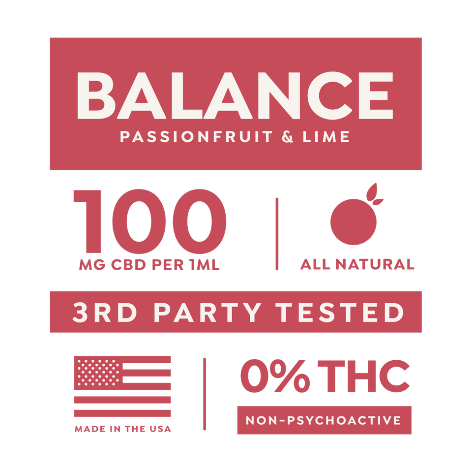 Balance 1000mg/10mL CBD Drops