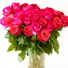 Load image into Gallery viewer, Hot Pink Long Stem Roses
