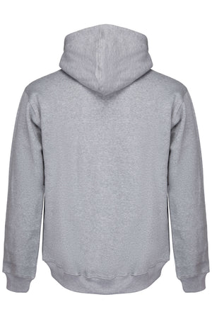 Organic Grey Classic Hoodie made by subtledk