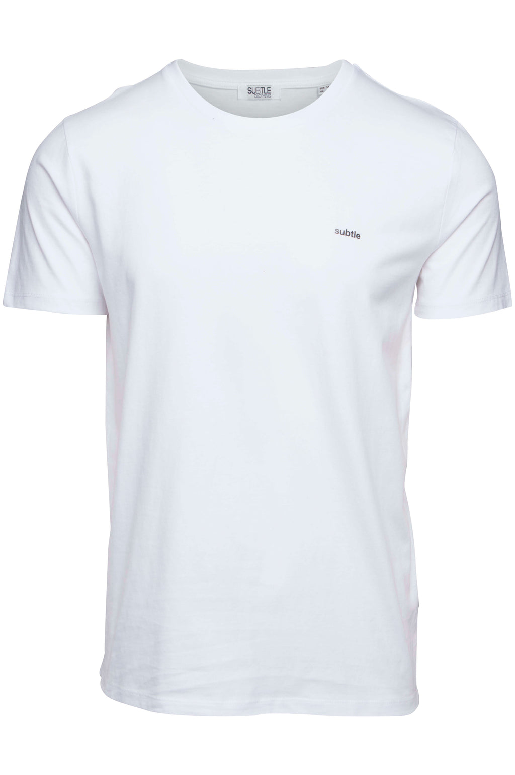 Organic White Classic T-shirt made by subtledk