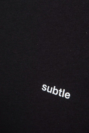 Organic Black Classic T-shirt made by subtledk