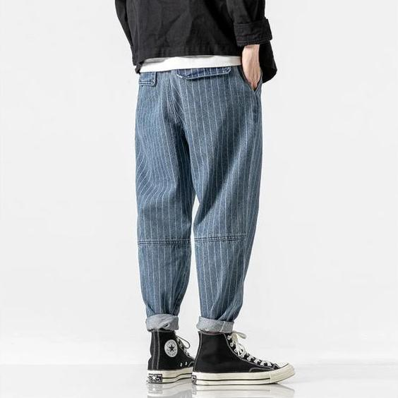 Yatsu Denim Harem Pants