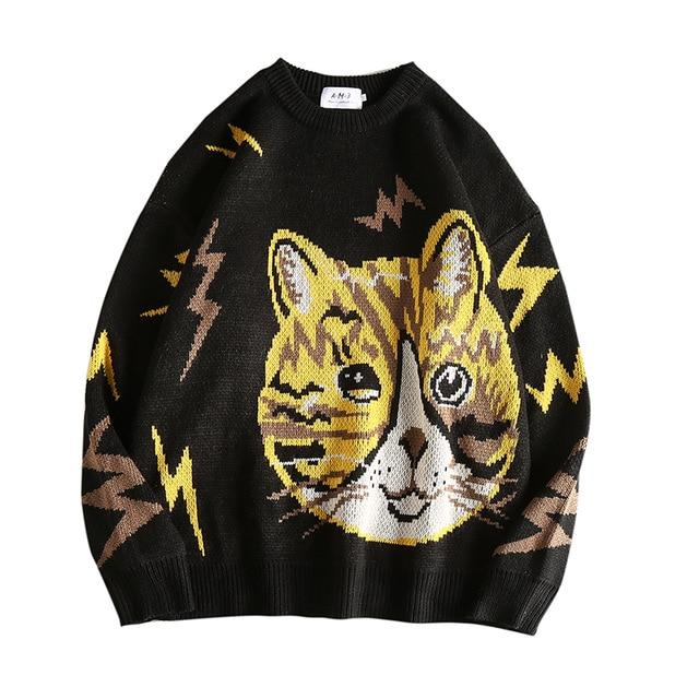 Neko Knitted Wool Sweater