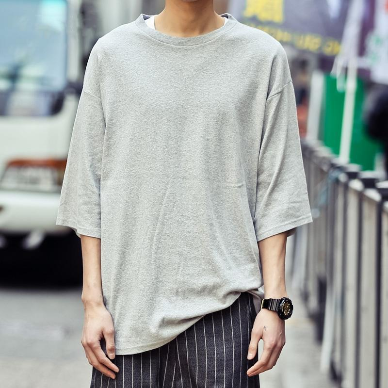 Motto Oversized Shirt