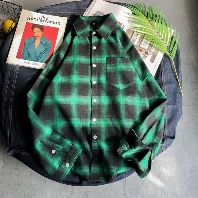 Sangaku Plaid Shirts