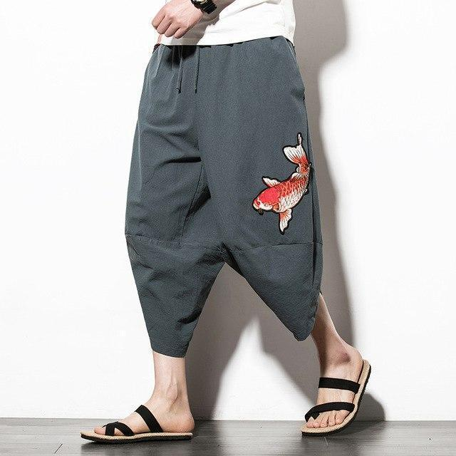Kingyo Men's Pants