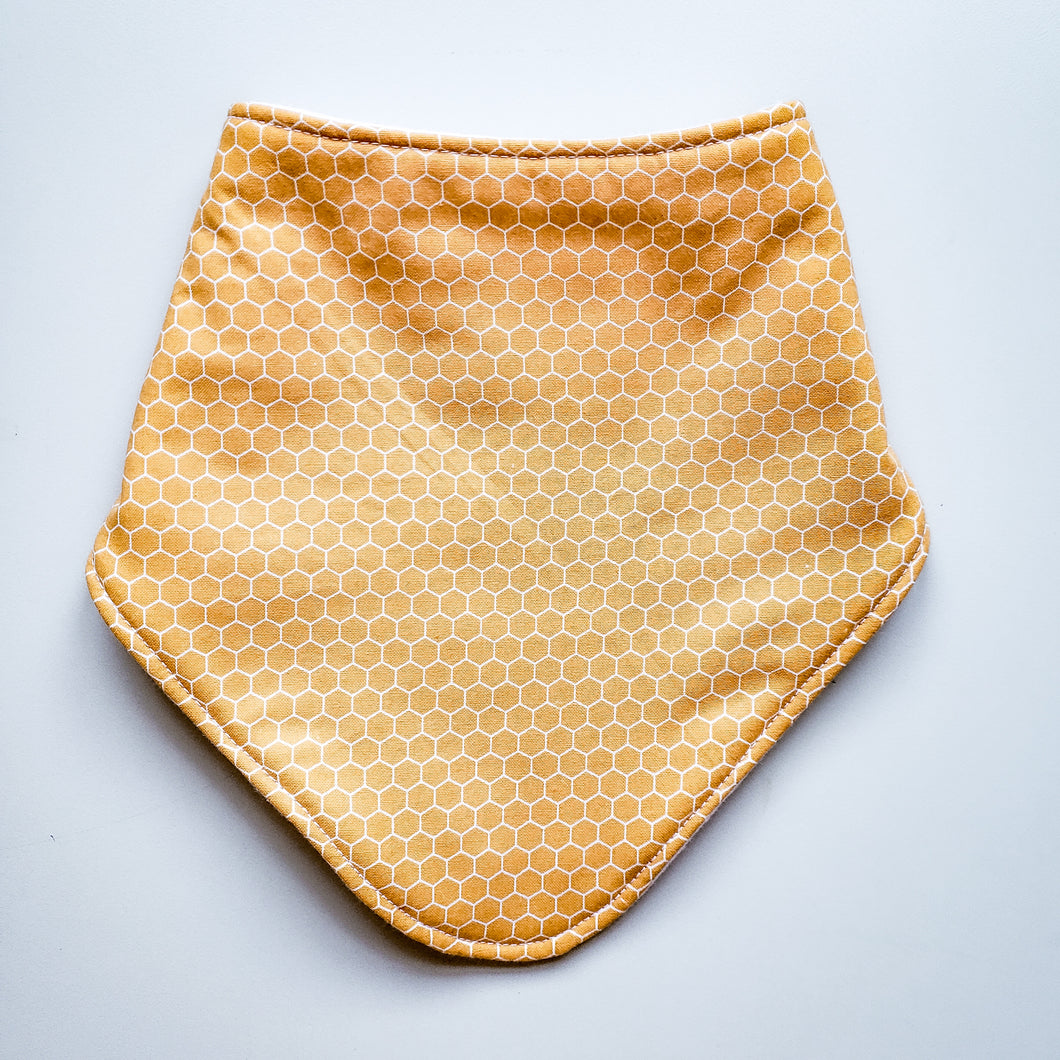 Brooksies Dribble Bib Honeycomb