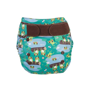 TotsBots Nappy EasyFit STAR Five Little Speckled Frogs