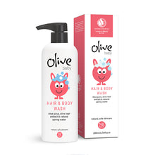 Load image into Gallery viewer, Olive Baby Hair & Body Wash 200ml