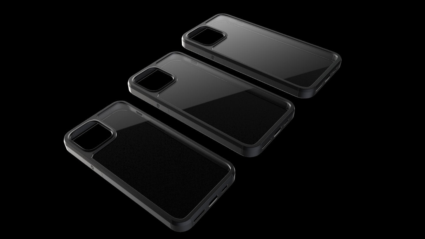 The new iPhone 12 pro mini max series cases by pod accessories. Clear, rugged, leather, and frosted case for drops and the best price.