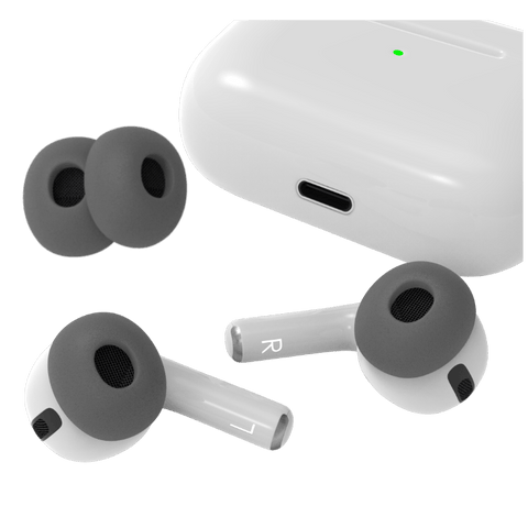 AirPods Pro two sets of new ear tip replacements for better fit memory foam silicone