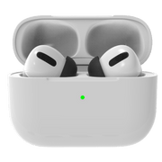AirPods Pro replacement foam tips compatible with silicone apple tips. Made to fit in charging case. Improve noise cancellation, reduce ear pain caused by silicone AirPods Pro tips. airpods hurt my ears #color_black