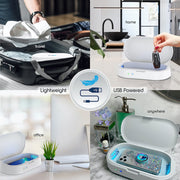 Multi Accessory UV-C Sanitizer Station with Scent Diffuser