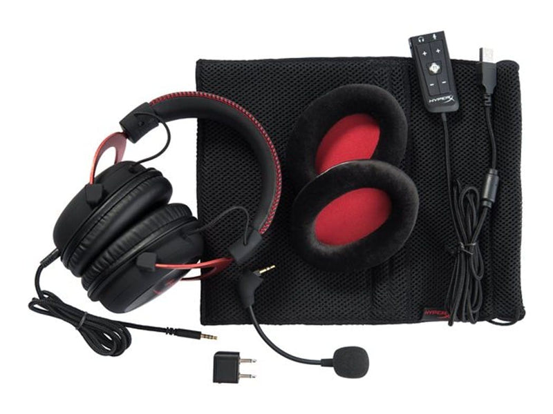 HyperX Cloud II gaming-headset - rød/sort