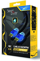 HDMI Kabel - 4K 2.0 - 2 Meter - Steelplay
