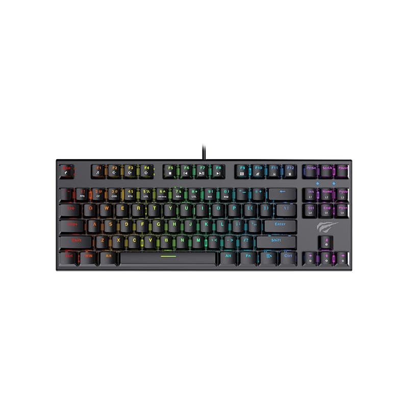 Havit KB857 TKL RGB Gaming Tastatur