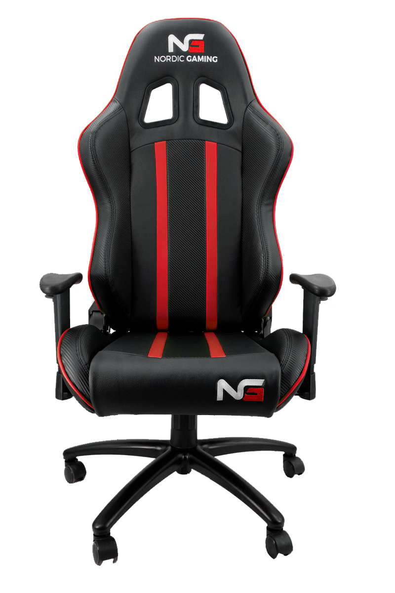 Nordic Gaming Carbon Gaming Chair Rød