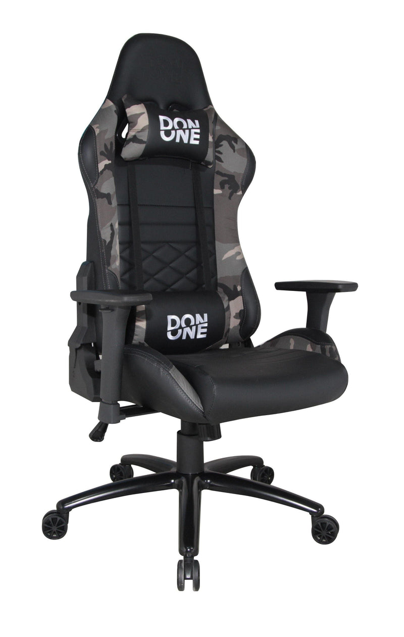 DON ONE -GC300 GAMING STOL Sort/Camouflage