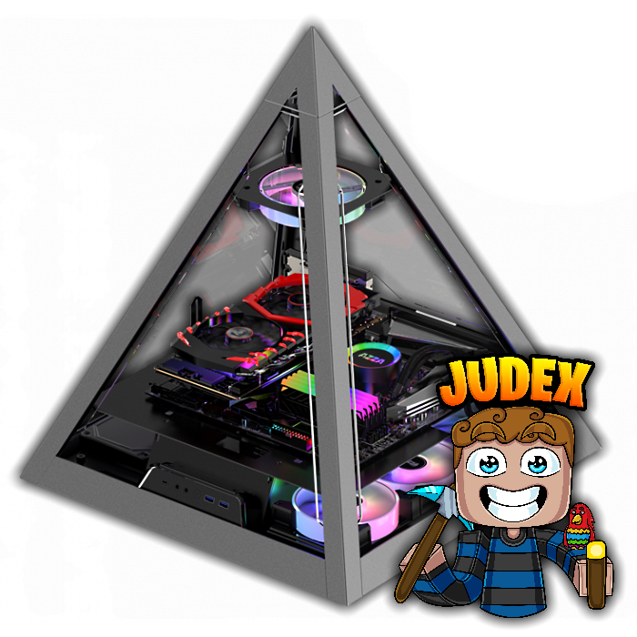 Judex Illuminati Bæst Gaming/Streaming Computer