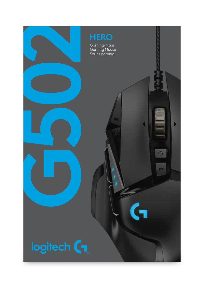 Logitech - G502 HERO High Performance Gaming Mus