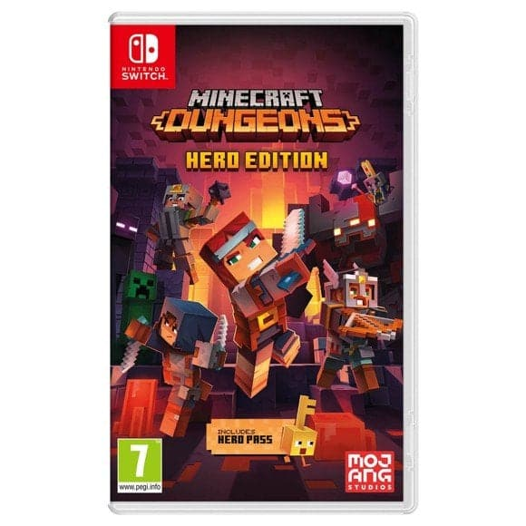 Minecraft: Dungeons - Hero Edition - Nintendo Switch