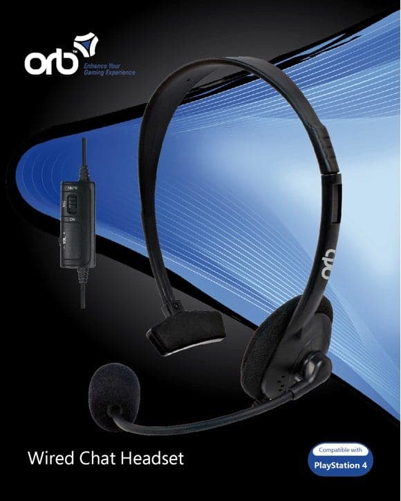 Playstation 4 - Kablet Chat Headset (ORB)