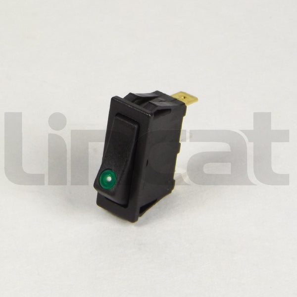 SW53 Green Neon Rocker Switch