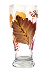 Autumn Leaves Pilsner Glass