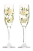 Soft Yellow Daisies Champagne Flutes (Set of 2) - Wineflowers