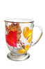 Autumn Leaves Cafe Mug - Wineflowers