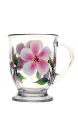 Cherry Blossoms Cafe Mug