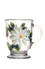 White Daisies Cafe Mug