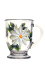 White Daisies Cafe Mug - Wineflowers