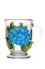 Classic Hydrangeas Cafe Mug - Wineflowers