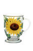 Sunflowers Cafe Mug - Wineflowers