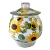 Sunflowers Cookie Jar