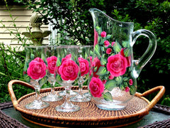 7-Piece Roses Sangria Set