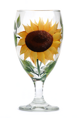 Sunflower Goblet