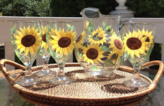 Sunflowers 5-Piece Entertaining Set