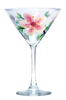 Cherry Blossoms Martini Glass - Wineflowers