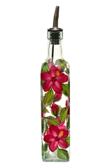 Red Hibiscus Olive Oil Bottle