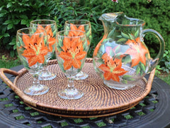 Tigerlilies 5-Piece Entertaining Set