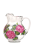Pink Hydrangeas Pitcher - Wineflowers