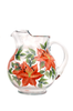 Tigerlilies Pitcher - Wineflowers