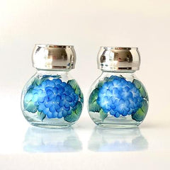 Hydrangeas Salt & Pepper Set