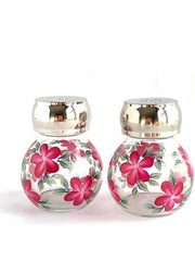 Red Daisies Salt & Pepper Set