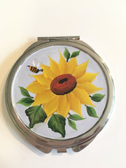 Sunflowers Mirror Compact